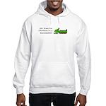 Christmas Snowmobile Hooded Sweatshirt