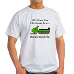Christmas Snowmobile Light T-Shirt