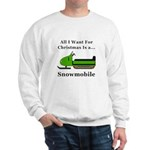 Christmas Snowmobile Sweatshirt