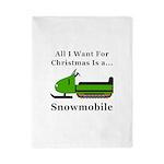 Christmas Snowmobile Twin Duvet