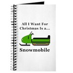 Christmas Snowmobile Journal
