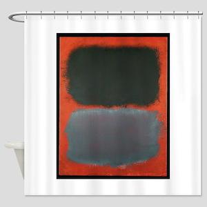 grey and orange shower curtain. ROTHKO SHADES OF GREY AND ORANGE Shower Curtain Modern Grey And Orange Curtains  CafePress