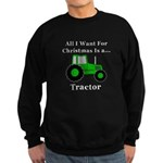 Christmas Tractor Sweatshirt (dark)