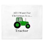 Christmas Tractor King Duvet