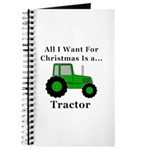 Christmas Tractor Journal