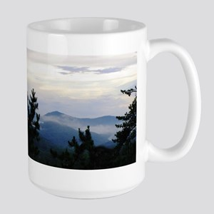 Smoky Mountain Morning Large Mug