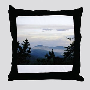 Smoky Mountain Morning Throw Pillow