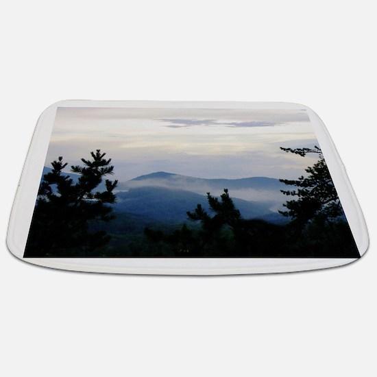 Smoky Mountain Morning Bathmat