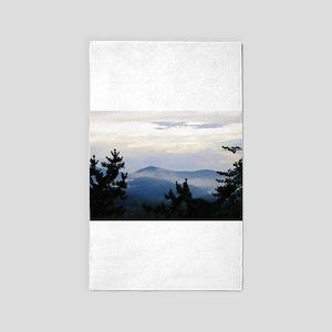 Smoky Mountain Morning Area Rug