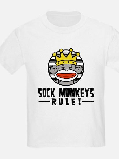 Sock Monkeys Rule T-Shirt