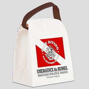 Emergence du Ressel Canvas Lunch Bag