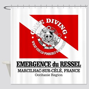 Emergence du Ressel Shower Curtain