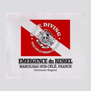 Emergence du Ressel Throw Blanket