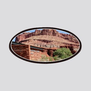 Capitol Reef National Park Visitor Center, U Patch