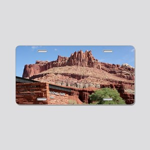 Capitol Reef National Park Aluminum License Plate