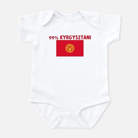99 PERCENT KYRGYSZTANI Infant Bodysuit