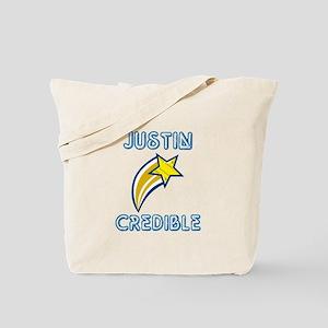 Justin Credible Tote Bag