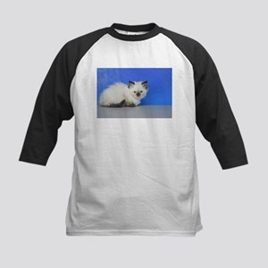 Anna - Seal Point Ragdoll Kitten Baseball Jersey