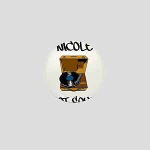 Nicole Got Soul Mini Button