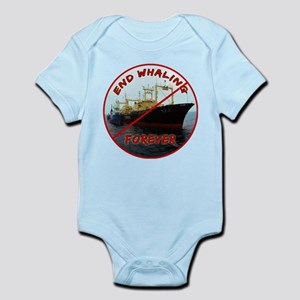 End Whaling Forever Body Suit