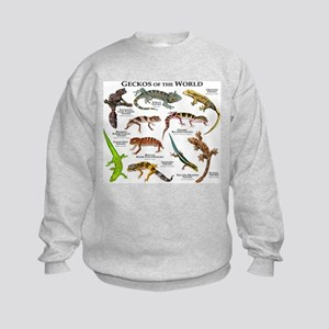 Geckos of the World Sweatshirt