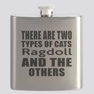 There Are Two Types Of Ragdoll Cats Designs Flask