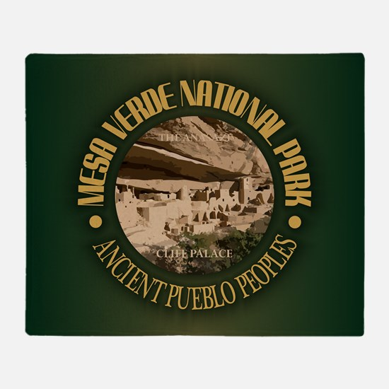 Mesa Verde NP Throw Blanket