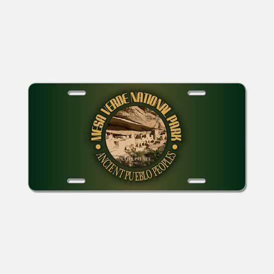 Mesa Verde NP Aluminum License Plate