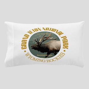 Grand Teton NP (elk) Pillow Case