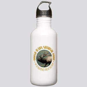 Grand Teton NP (elk) Water Bottle