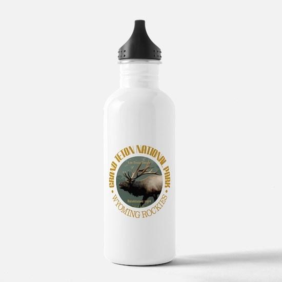 Grand Teton NP (elk) Water Bottle