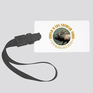 Grand Teton NP (elk) Luggage Tag