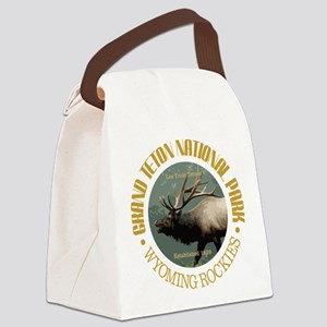 Grand Teton NP (elk) Canvas Lunch Bag