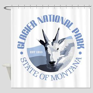 Glacier National Park (goat) Shower Curtain