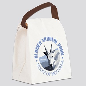 Glacier National Park (goat) Canvas Lunch Bag