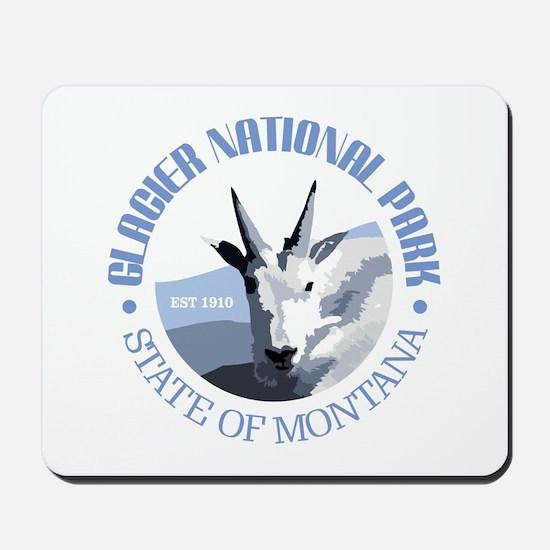 Glacier National Park (goat) Mousepad