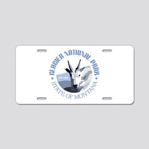 Glacier National Park (goat) Aluminum License Plat