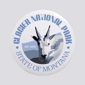 Glacier National Park (goat) Ornament (Round)
