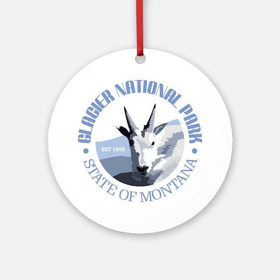 Glacier National Park (goat) Ornament (Round)