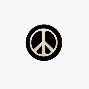 The Classic Peace Mini Button