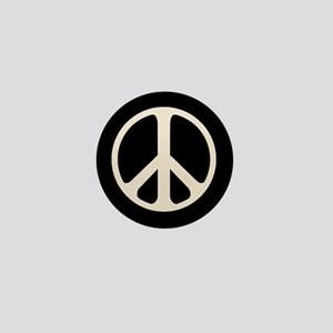 The Classic Peace Symbol Mini Button (100 Pack)