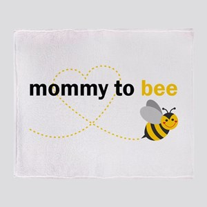 Mommy To Bee Throw Blanket