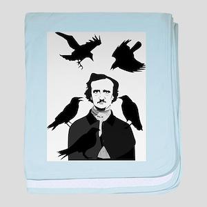 Edgar Allan Poe baby blanket