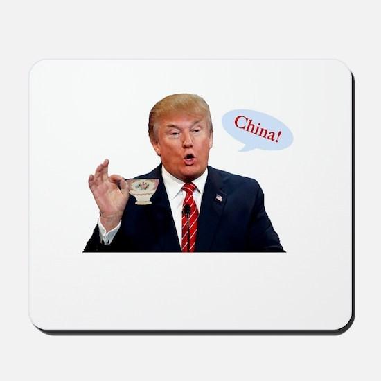Donald Trump China Funny Mousepad