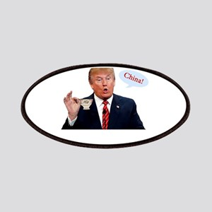 Donald Trump China Funny Patch