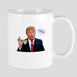 Donald Trump China Funny Mugs