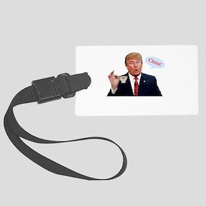 Donald Trump China Funny Luggage Tag