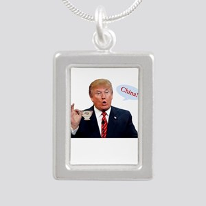 Donald Trump China Funny Necklaces