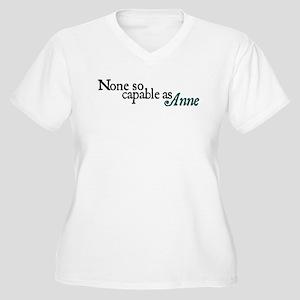 capableAnne copy Plus Size T-Shirt