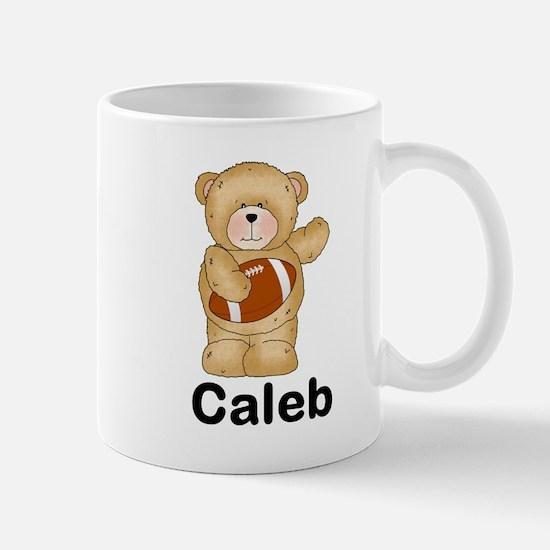 Caleb's Football Bear Mug